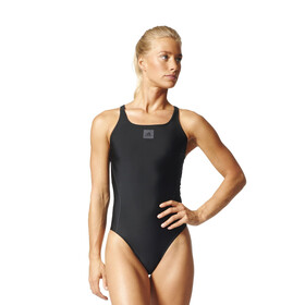 adidas Essence Core Solid One Piece Swimsuit Women black/utility black